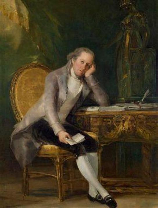 Baltasar Melchor Gaspar María de Jovellanos. Francisco Goya. 1798