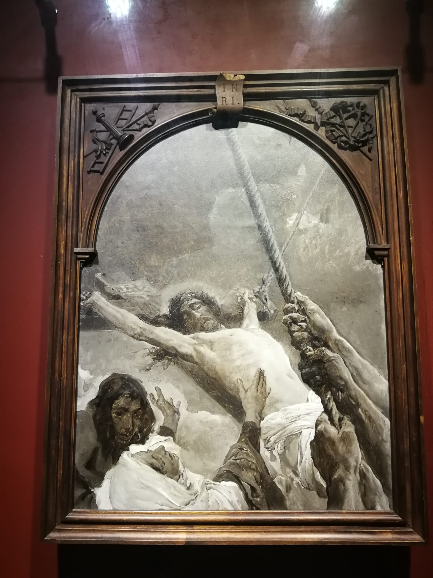 Воздвижение Креста. Хоакин Соролья