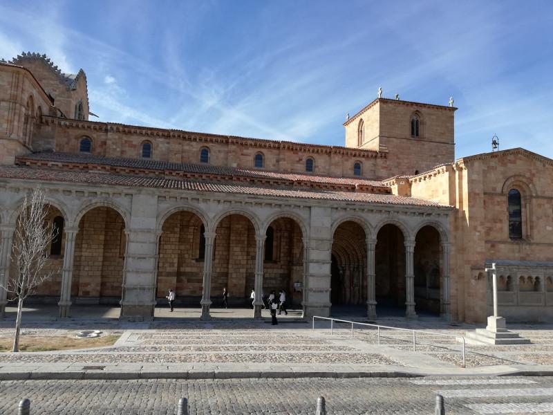 Южный портал Базилики Сан Висенте. Авила