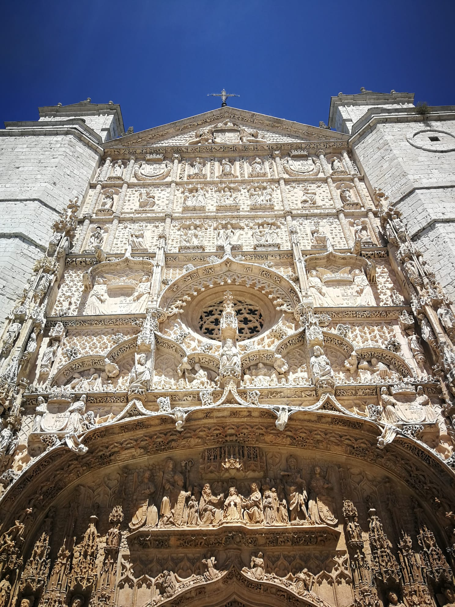 Фасад церкви Святого Павла. XV.Вальядолид