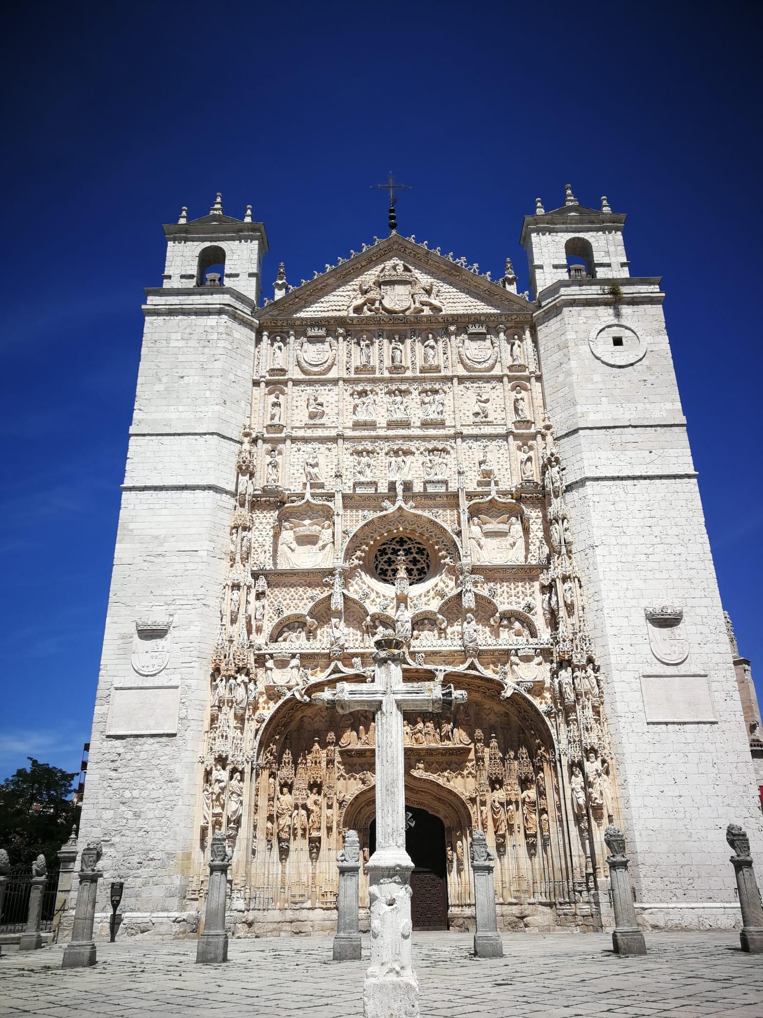 Фасад церкви Святого Павла. XV. Вальядолид