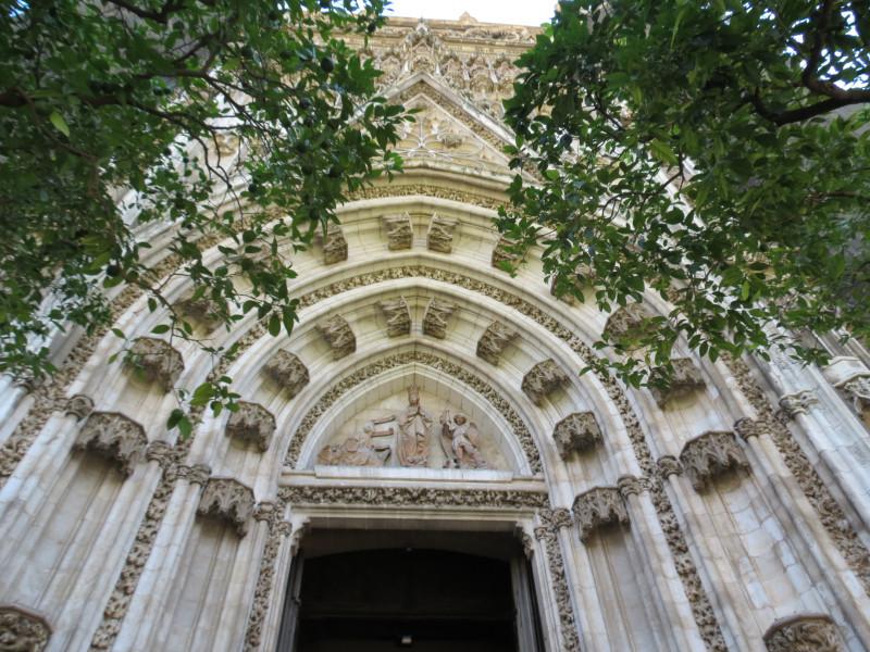 Портал Непорочного Зачатия. Кафедральный собор Севильи. Puerta de la Concepción