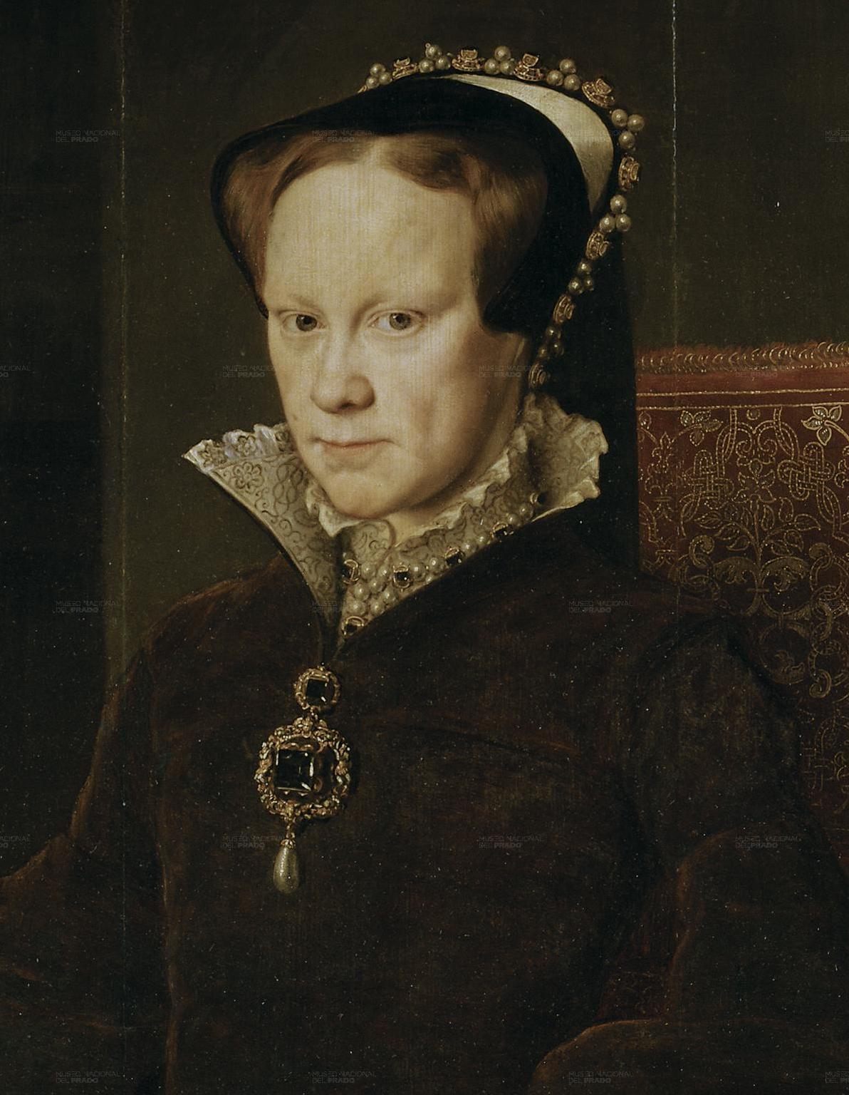 Мари́я I Тюдо́р (18 февраля 1516, Дворец Плацентия, Большой Лондон — 17 ноября 1558) , старшая дочь Генриха VIII от брака с Екатериной Арагонской.