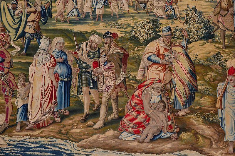 """Гобелен Севильского Алькасара """"Взятие Туниса Карлом V"""" ... Летом 1535 года они высадились вблизи руин Карфагена"""