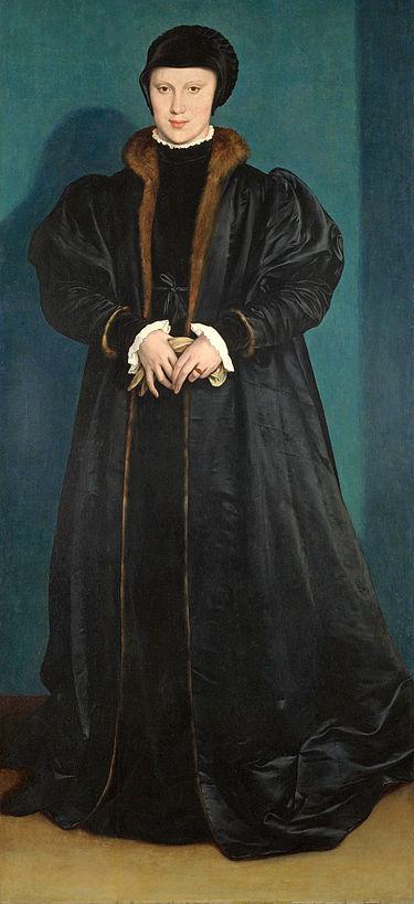 «Портрет Кристины Датской» (ок. 1538) — картина немецкого художника Ганса Гольбейна Младшего