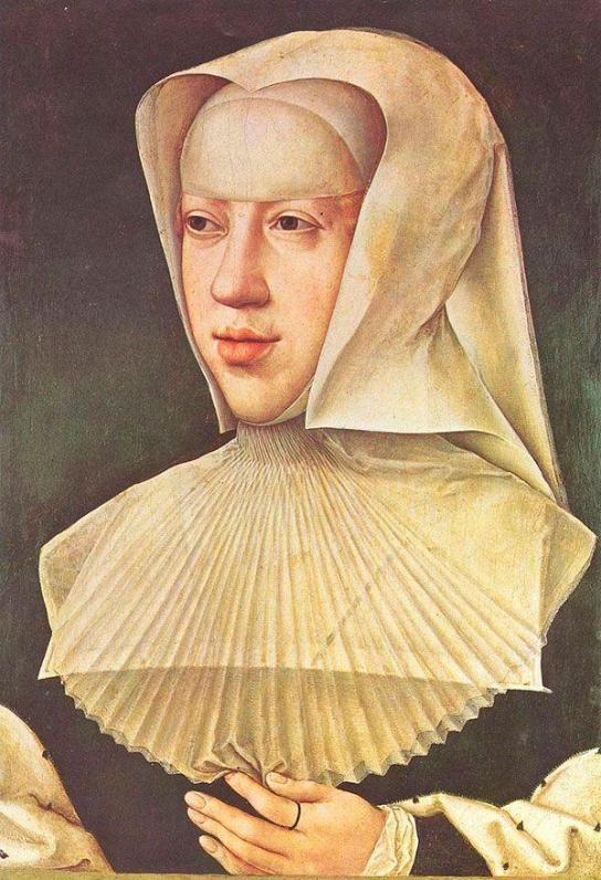Маргарита Австрийская — дочь императора Максимилиана I и Марии Бургундской. С 1507 года наместница Испанских Нидерландов