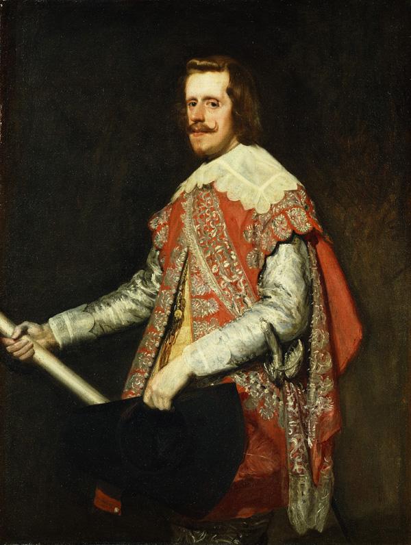 Диего Веласкес  (1599–1660) Портрет Филиппа IV в военном костюме