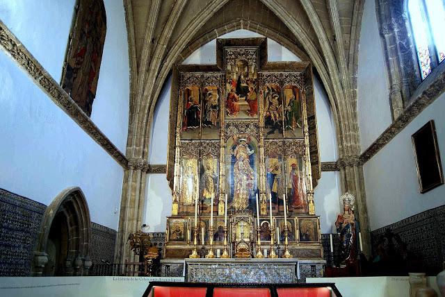 Алехо Фернандес. Capilla de Santa Maria de Jesus. Sevilla. http://leyendasdesevilla.blogspot.com/2013/01/capilla-de-santa-maria-de-jesus.html