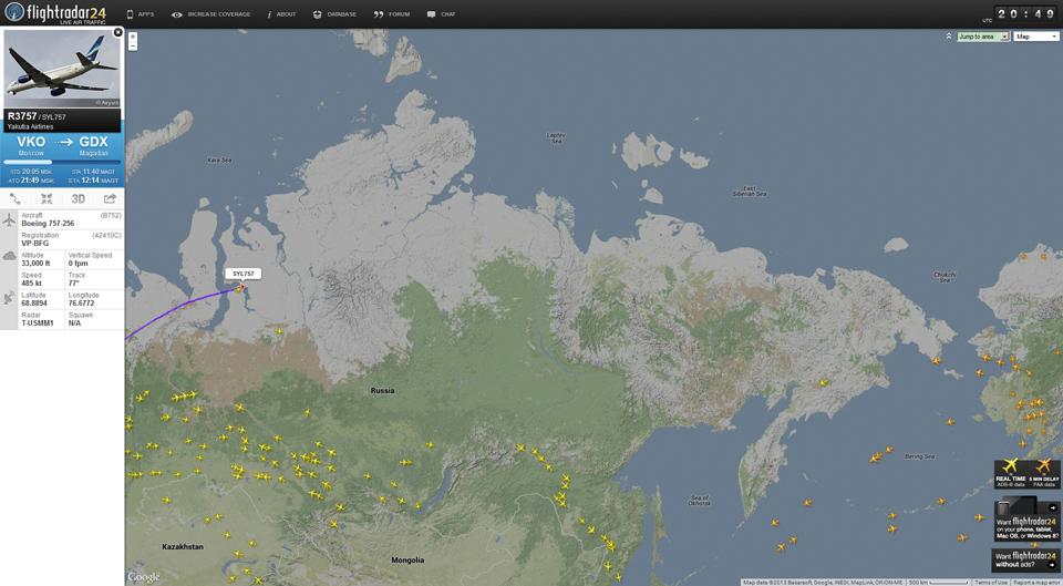 flightradar24.com