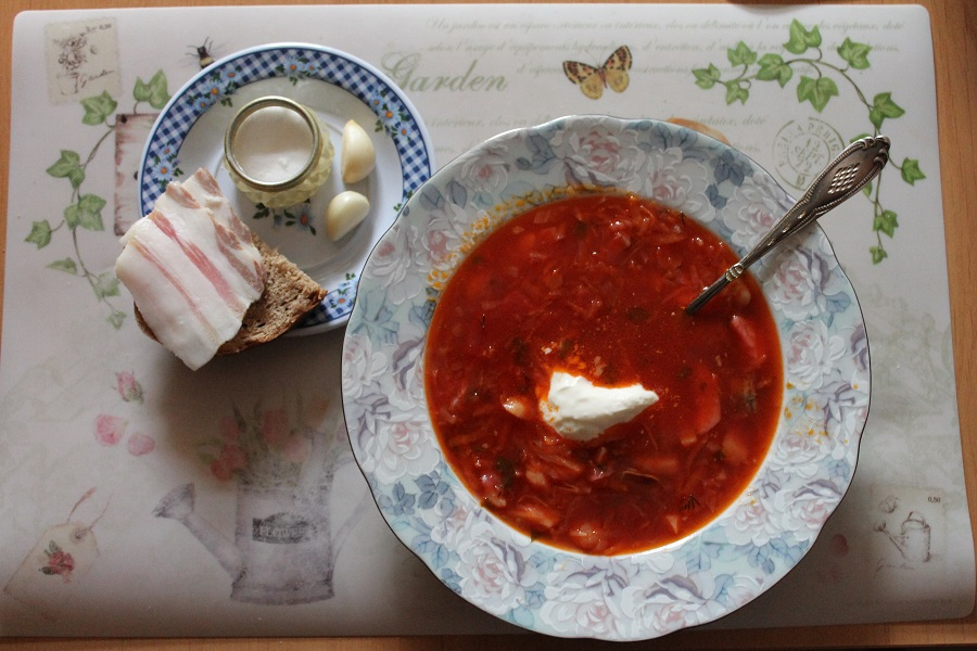 Борщ украинский  Рецепт с фото на Готовим дома