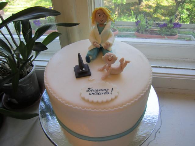 торт для врача люберцы