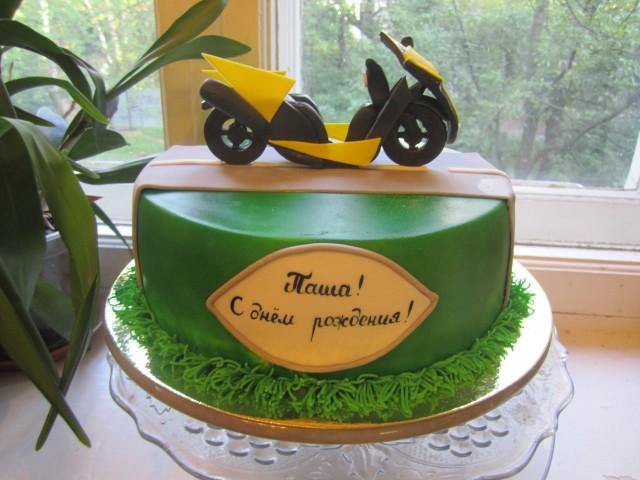 торт скутер люберцы