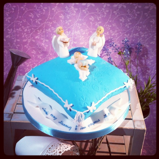 картинки с тортами и ангелами так нашла