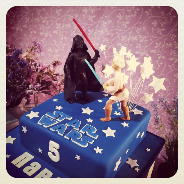 """торт """"Звездные войны"""" на заказ"""