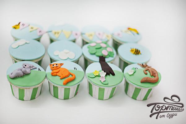 кап-кейки мастерской тортики от одри