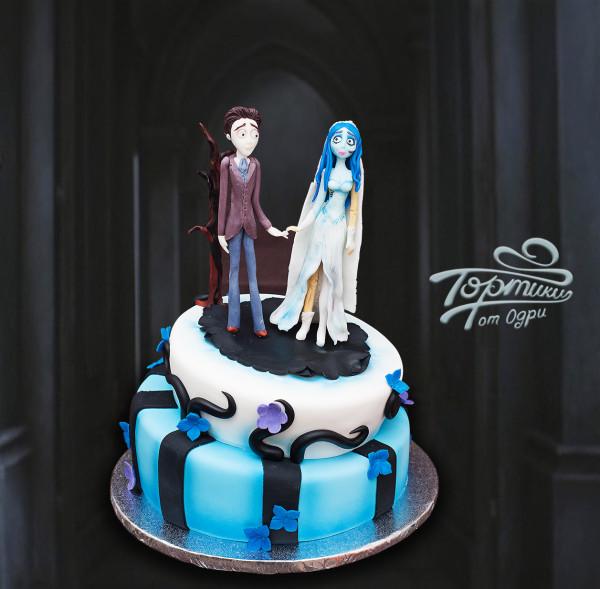 торт труп невесты