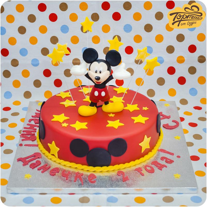 Фото торт с микки маусом