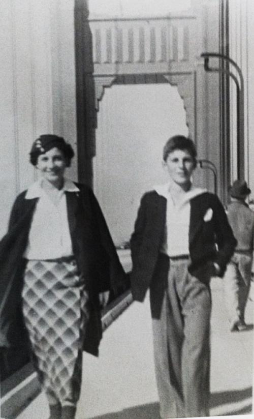Елена Бирич с сыном Алексеем. 1935 - копия