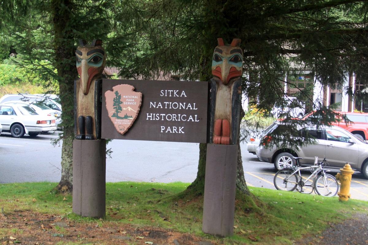 sitkanationalhistoricalparksign