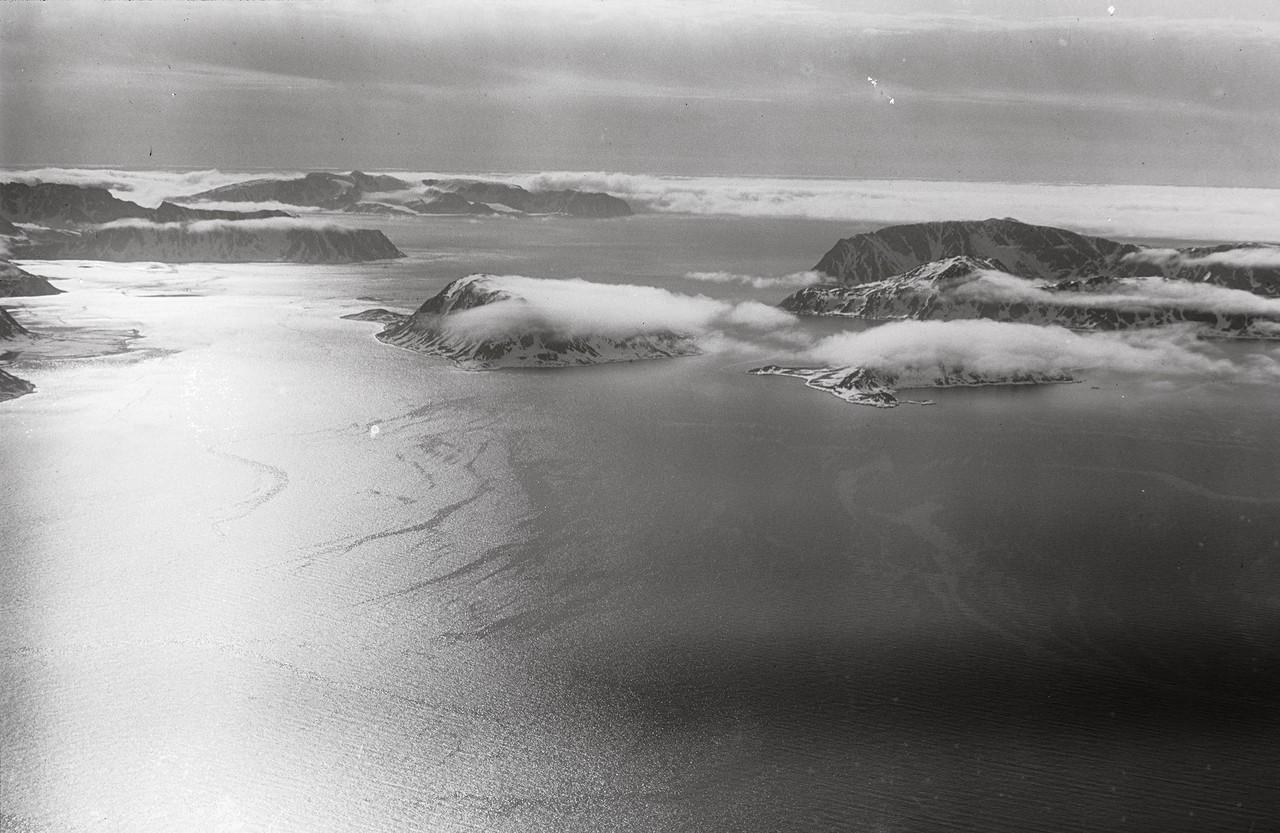 Svalbard aus der Luft