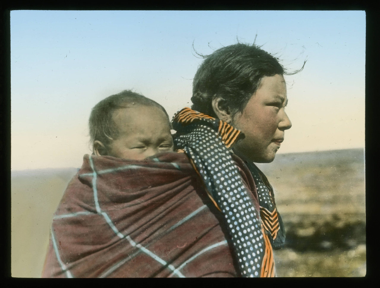 Handcolored_Inuit_mother_and_child_on_the_prairie.jpg