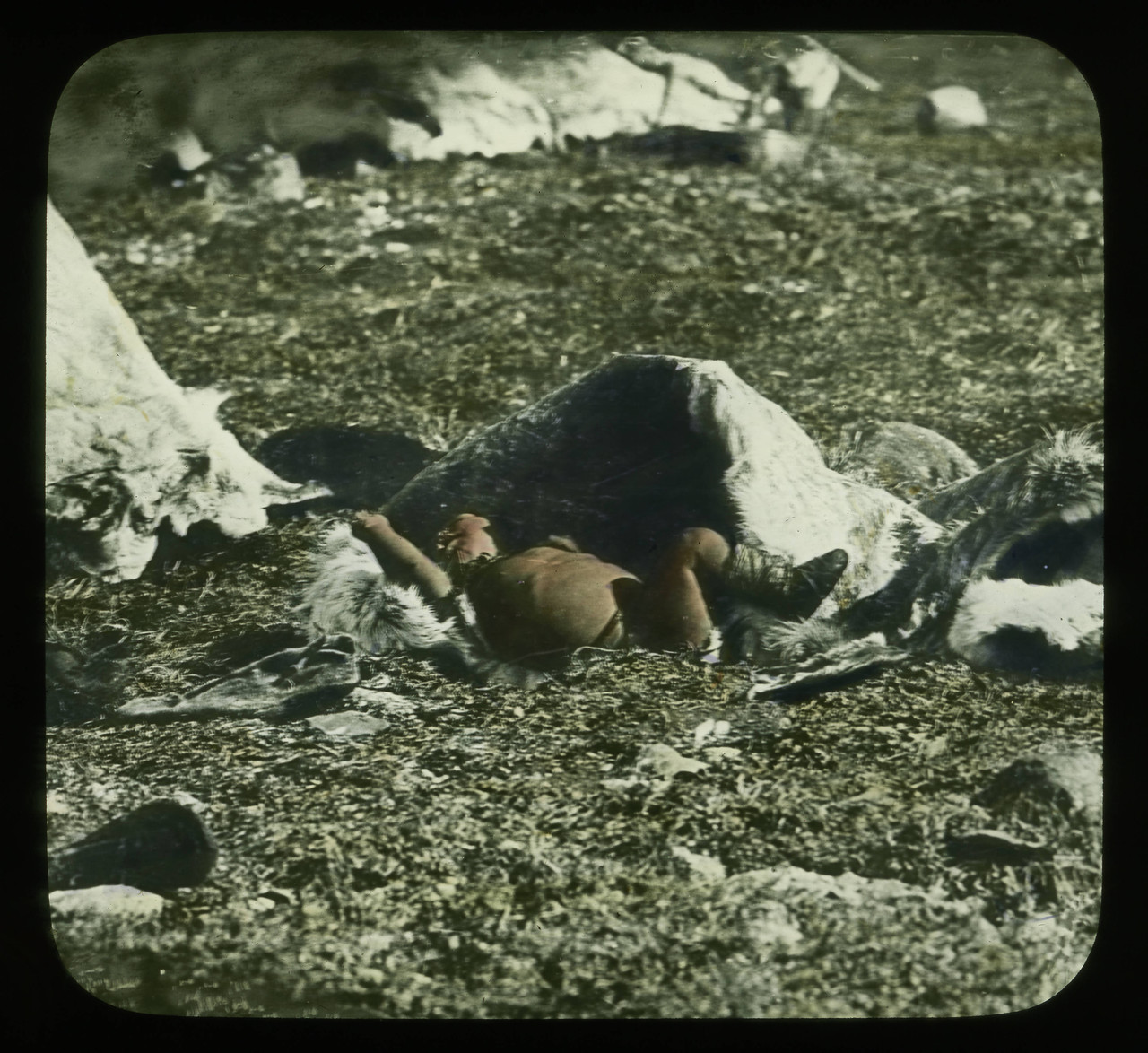 Handcolored_Infant_child_asleep_on_the_ground.jpg