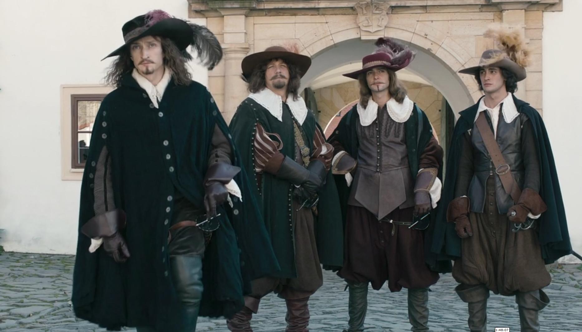 картинки четыре мушкетера подробно