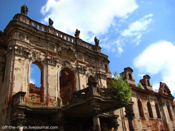 Palace von Reichenbach in Goszcz