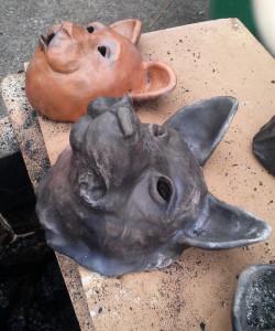 wolf bear masks