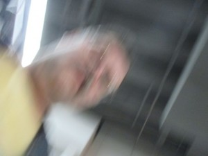 did I say blur?