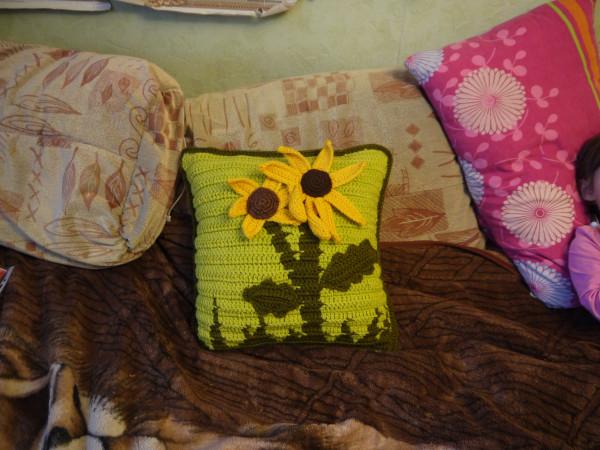 подушка бабушка