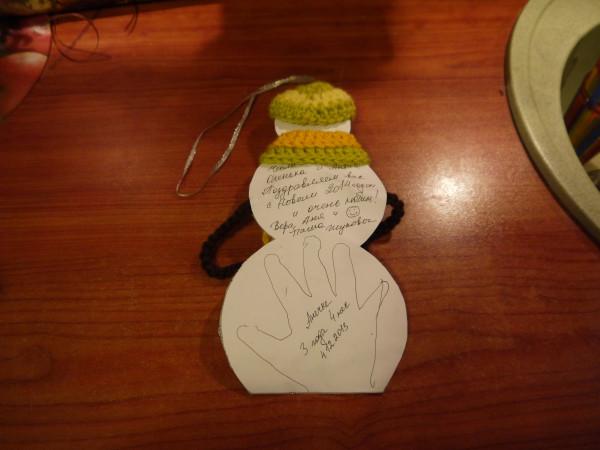 открытки снеговик 2