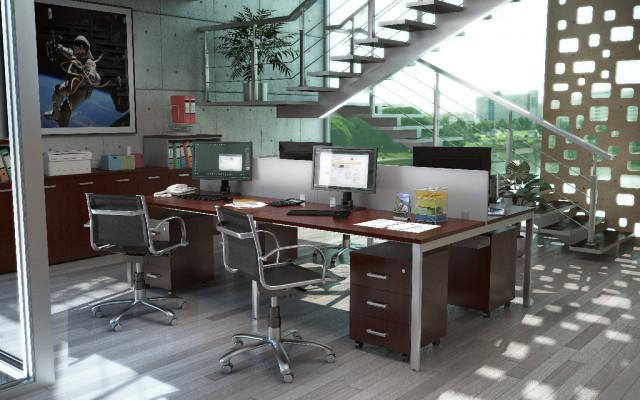 Офисная мебель для персонала бизнесс класса серии BENCH