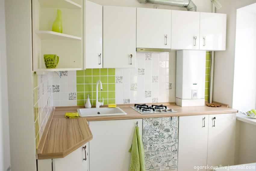 design a small kitchen 7x7