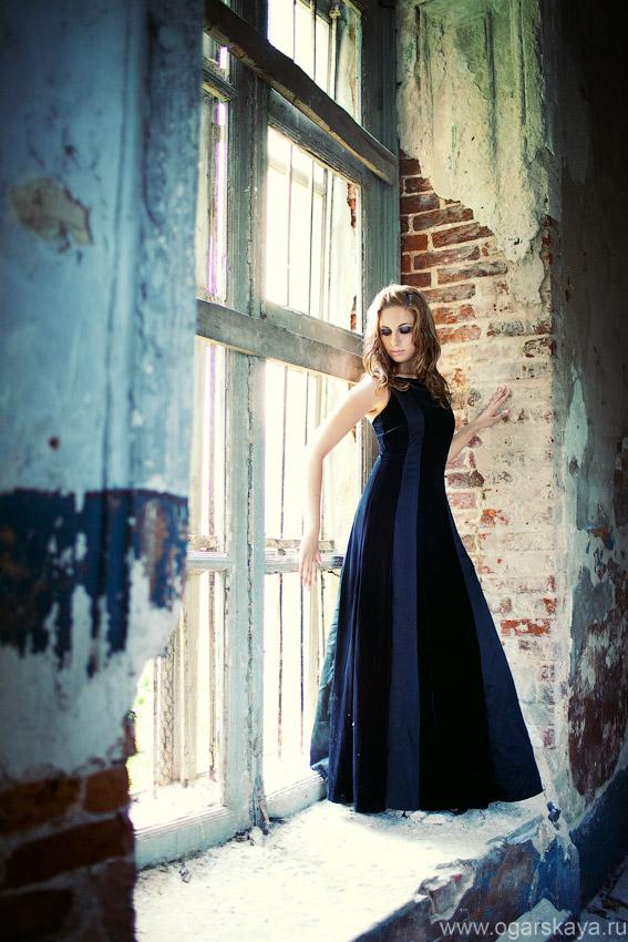 фотосессия в заброшенном здании белгорода фотографа