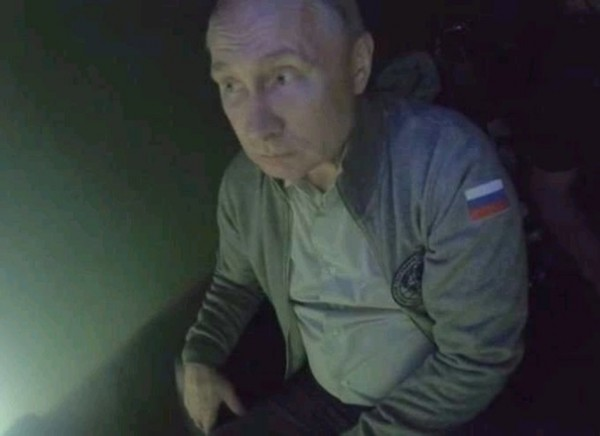 Так от кого же прячется Путин?..