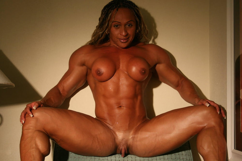 Naked Female Bodybuilder And Her Big Clit