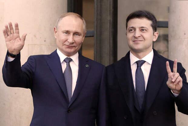 Путин & Зеленский: два великих историка