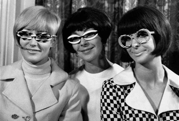 Необычные солнцезащитные очки из прошлого века
