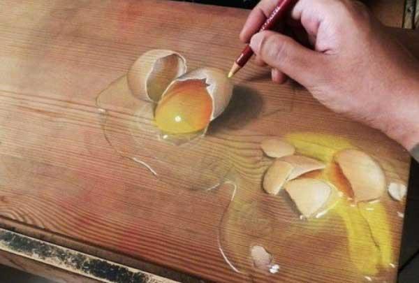 Обман для глаз - яйца