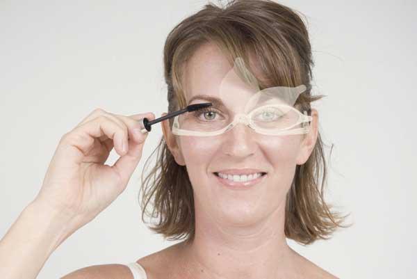 Как накрасить глаза если плохое зрение 113