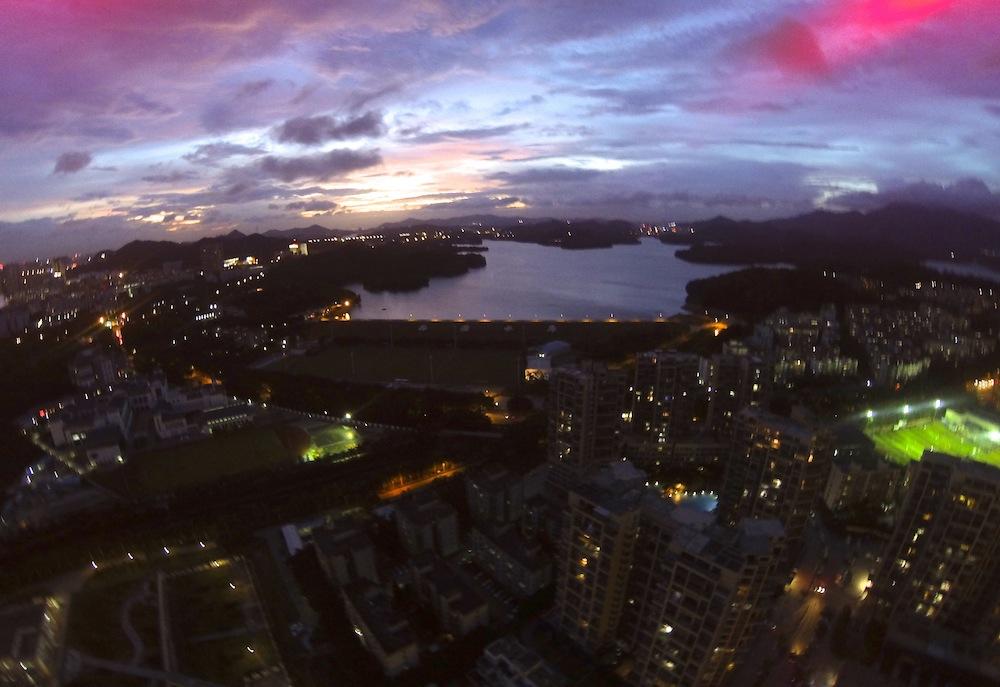 Sunset in Shenzhen