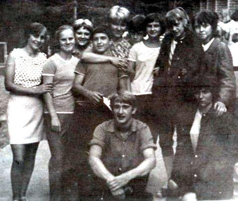 Пионерлагерь на Михайловских озерах(Солнечный луч) 1973год.