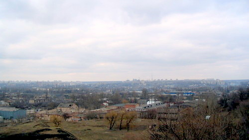 Харьков с бугра