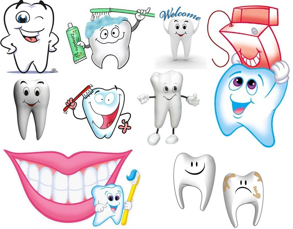 Сентября для, картинки прикольных зубов