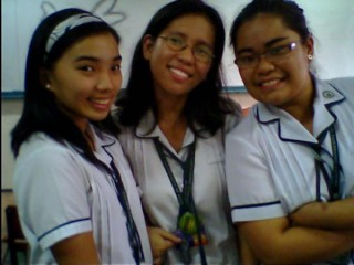 me with my best buds.. julie and andrea