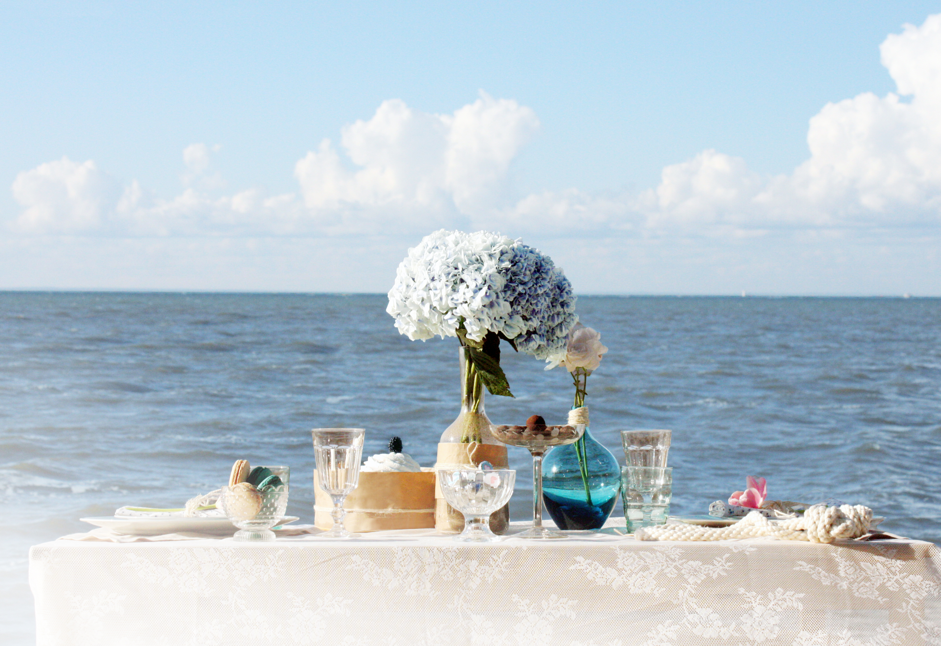 открытки цветы на берегу океана чем его