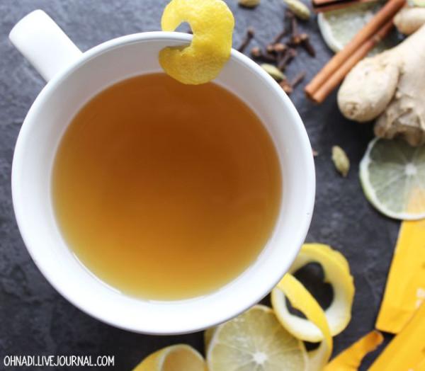имбирно лимонный чай для похудения отзывы