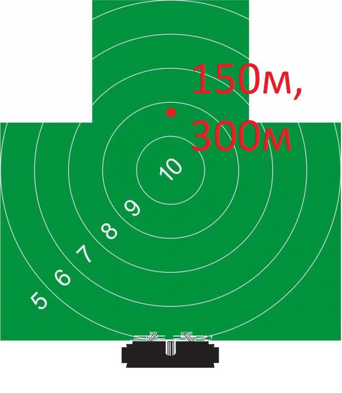 Мишень4 150, 300м