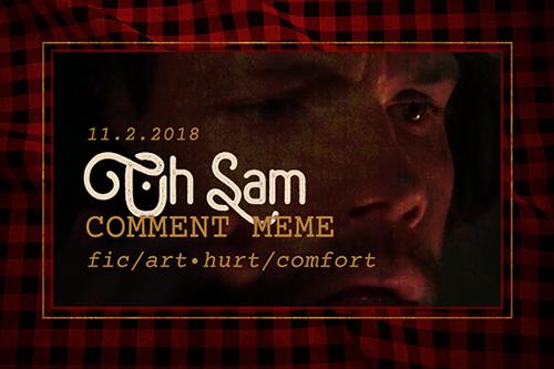 OhSam November 2018 meme banner